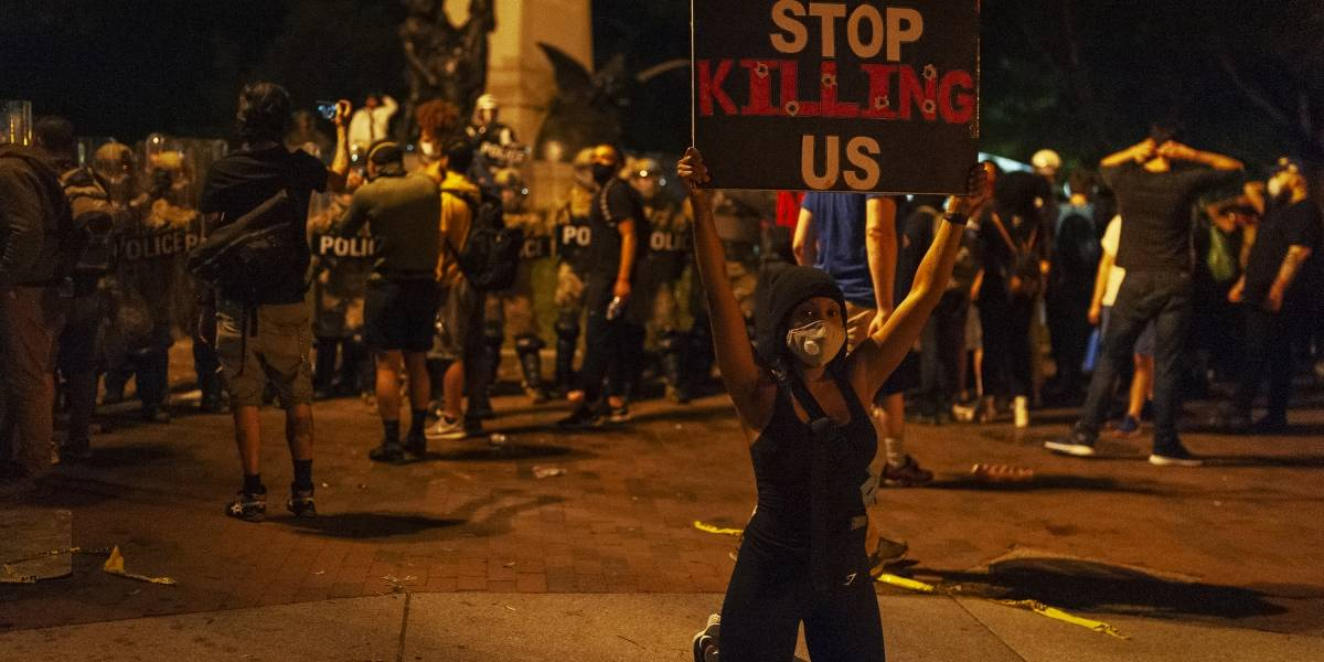 """EEUU.- La Casa Blanca rechaza que haya un """"racismo sistémico"""" en la Policía"""