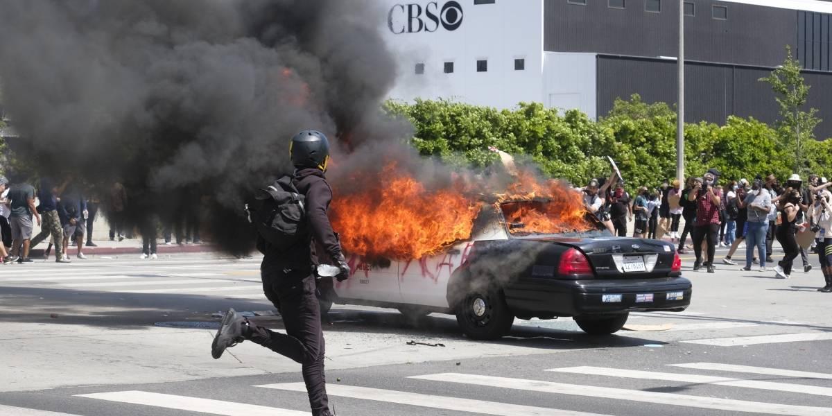 Los Ángeles recurre a Guardia Nacional para frenar violencia durante protestas