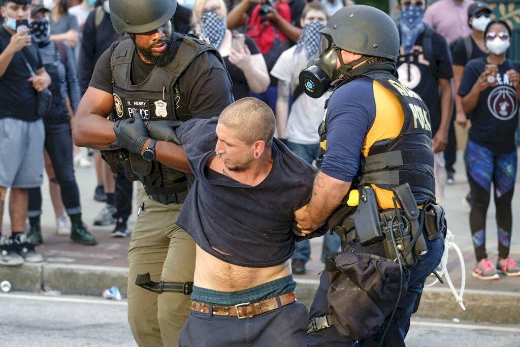 Policía, Atlanta, protestas