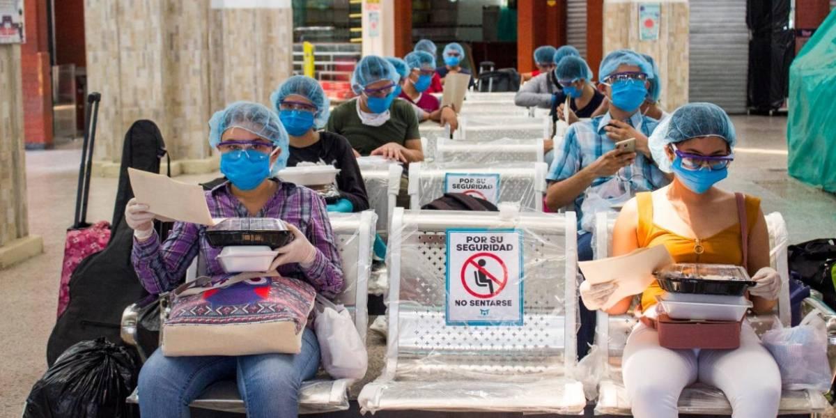 Activan 'Corredor Humanitario' para el traslado de estudiantes a ciudades de origen