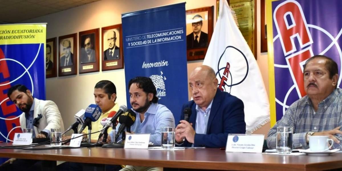 Asociación Ecuatoriana de Radiodifusión rechaza ataque a televisora