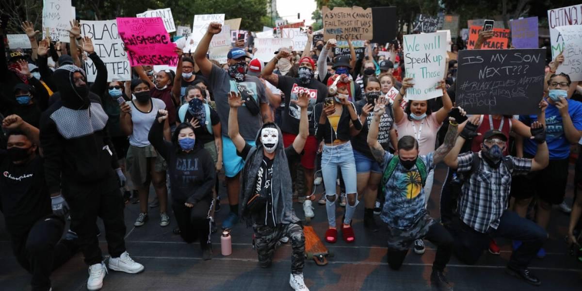 Prevén repunte de contagios por protestas masivas tras la muerte de George Floyd