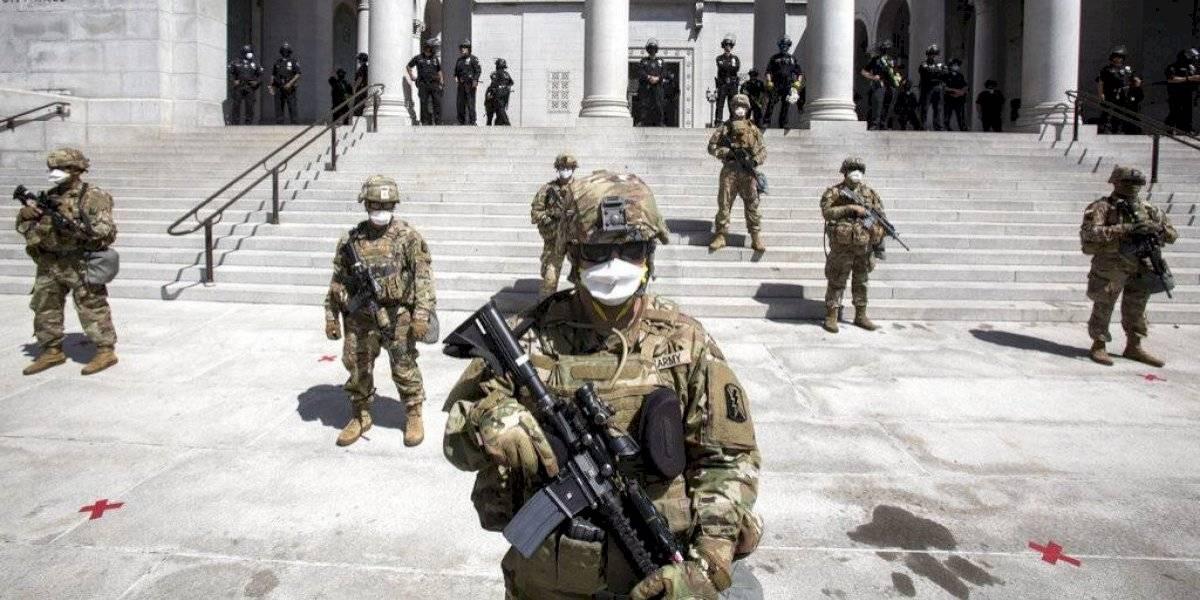 La Guardia Nacional: el brazo duro de los Estados para contener las manifestaciones