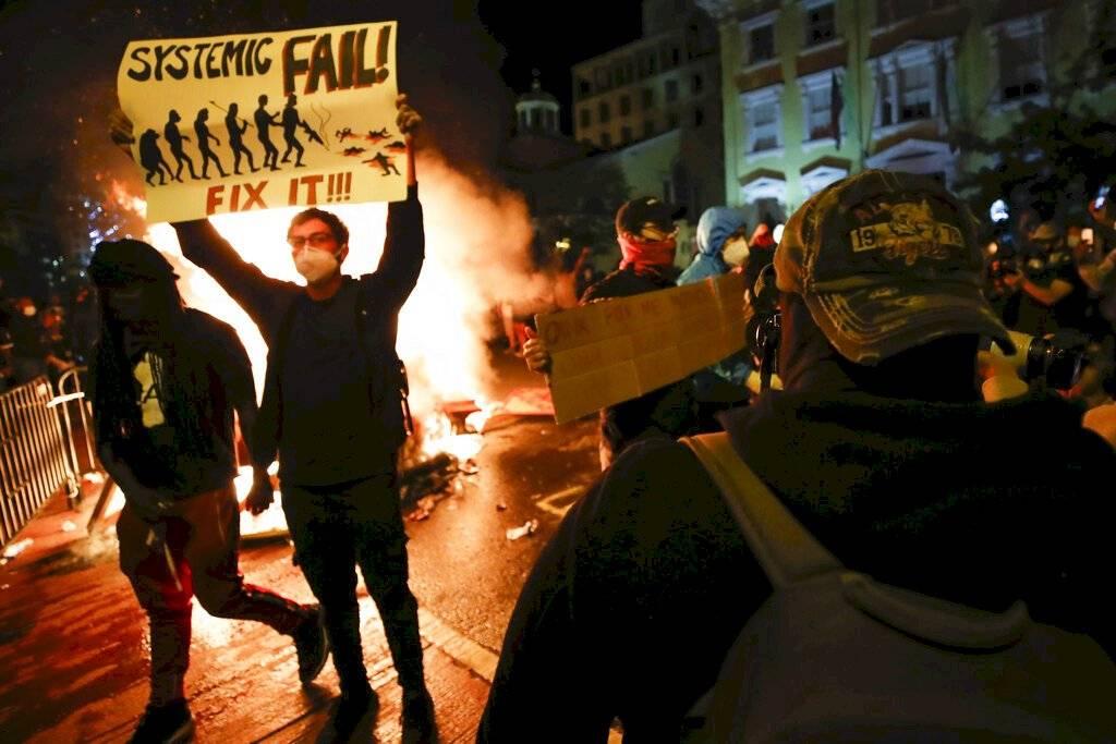 Protestas en Estados Unidos