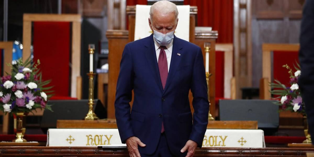 Biden promete atacar el racismo institucional en Estados Unidos