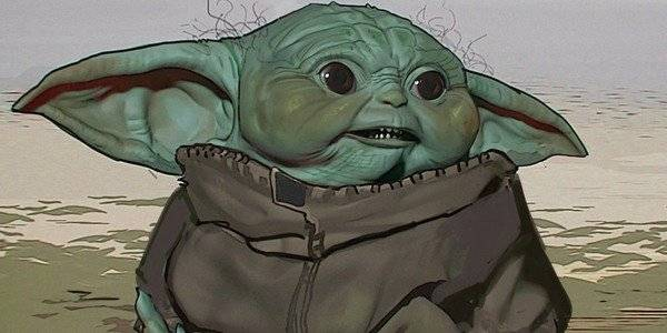 Baby Yoda Uggly