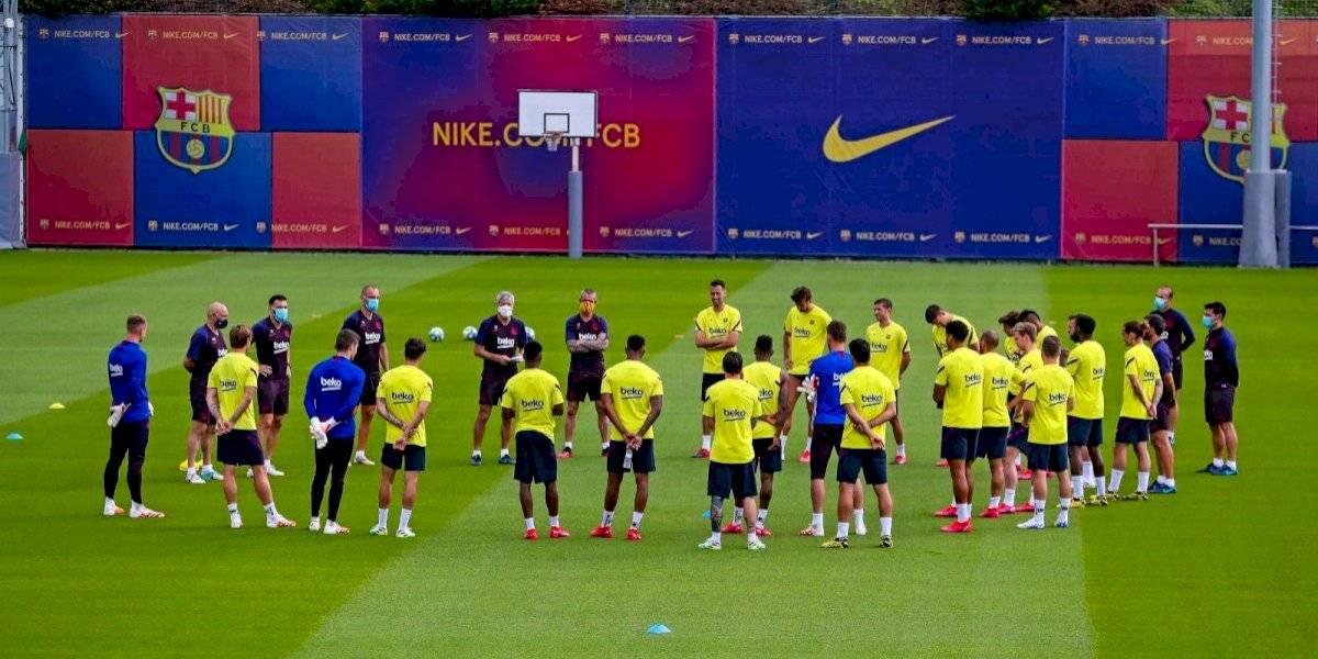 Clubes españoles entrenan por primera vez en grupos grandes