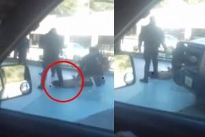 Con la bota en el cuello, policía de Tijuana mata a detenido
