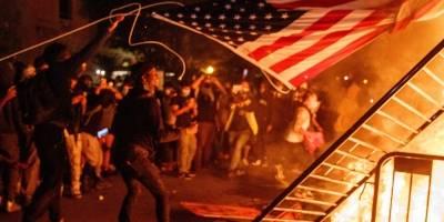 Protestas en la Casa Blanca