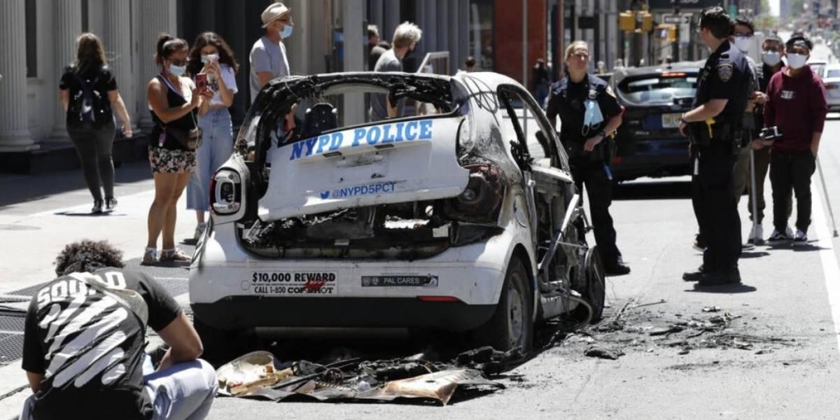 Ola de protestas no se detiene: Nueva York suma varios días de manifestaciones