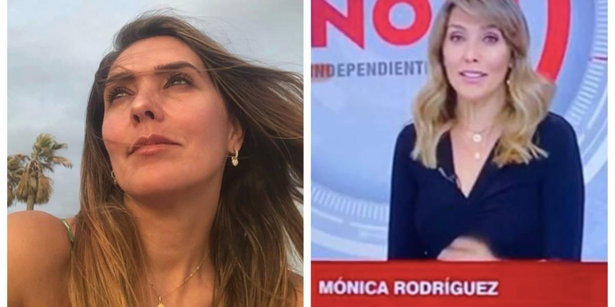 """El """"golpe bajo"""" que recibió Mónica Rodríguez en su estreno en 'Noticias Uno', según los televidentes"""