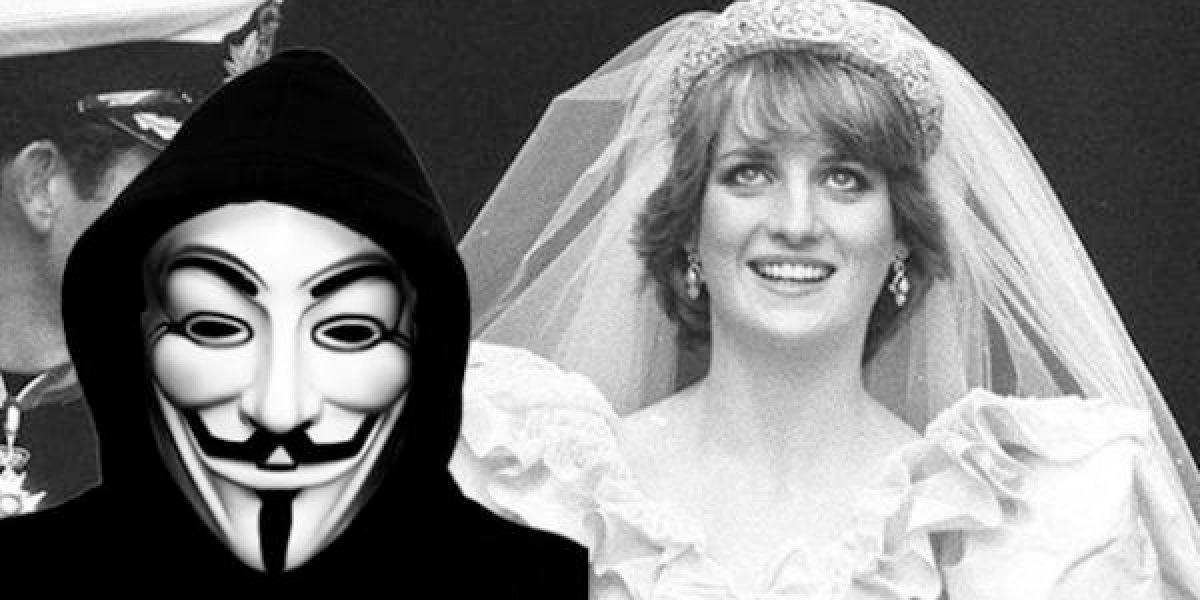 ¿Anonymous en realidad reveló que la muerte de Lady Diana fue planeada?