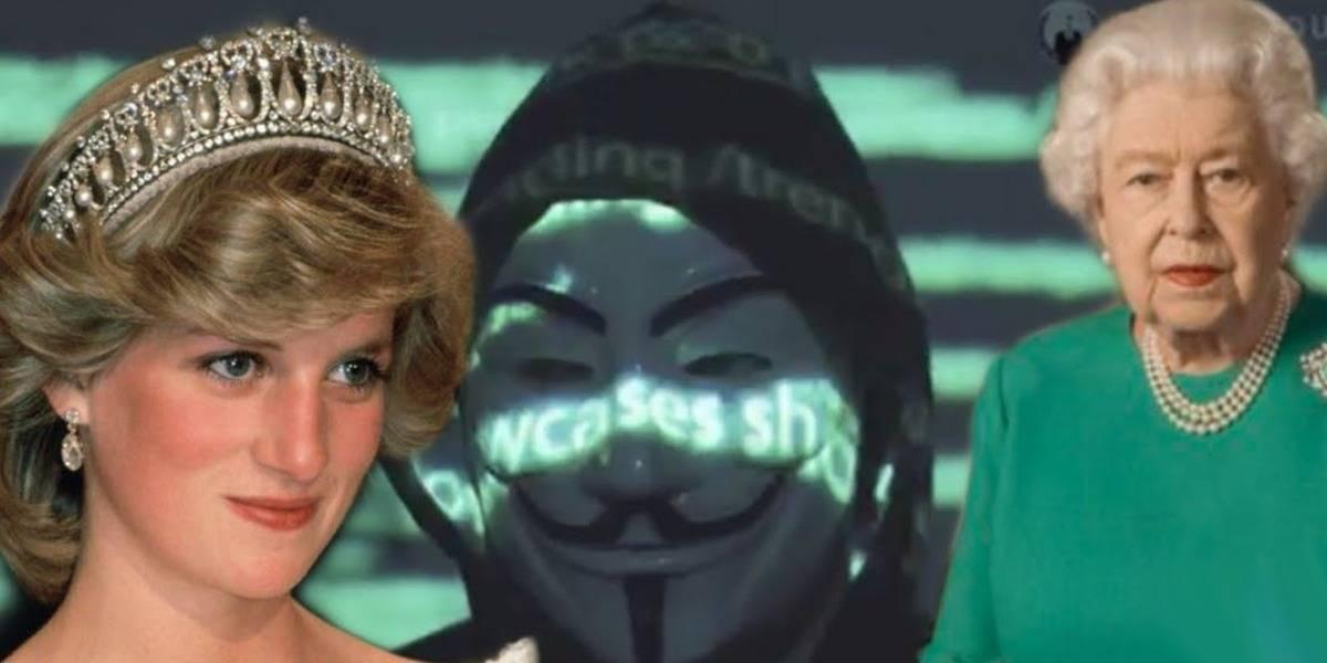 ¿Anonymous en realidad acaba de revelar que la muerte de Lady Diana fue planeada?