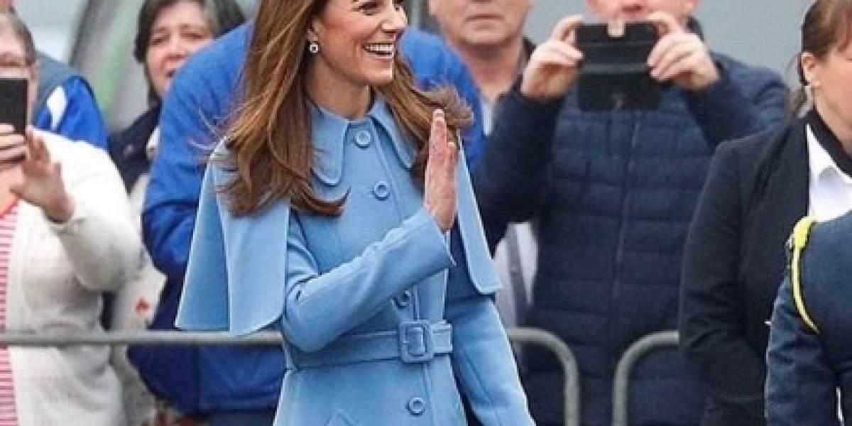 Kate Middleton rompe el protocolo real con su ropa