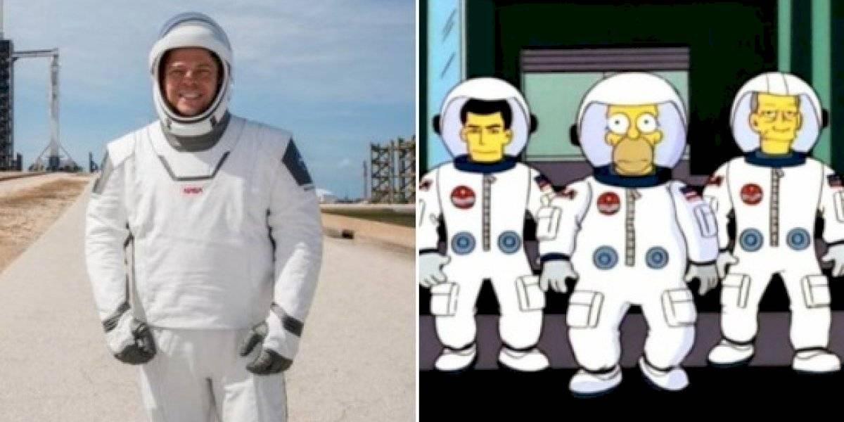 Los Simpson: La serie también predijo el viaje de Space X