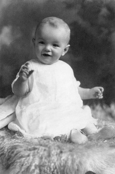 Marilyn Monroe de niña - GETTY