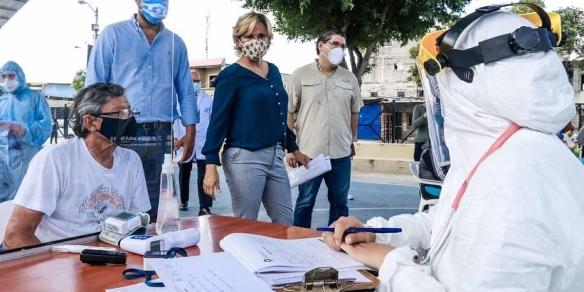 Municipio de Guayaquil entregó 3.800 pruebas rápidas a Subcentros del MSP