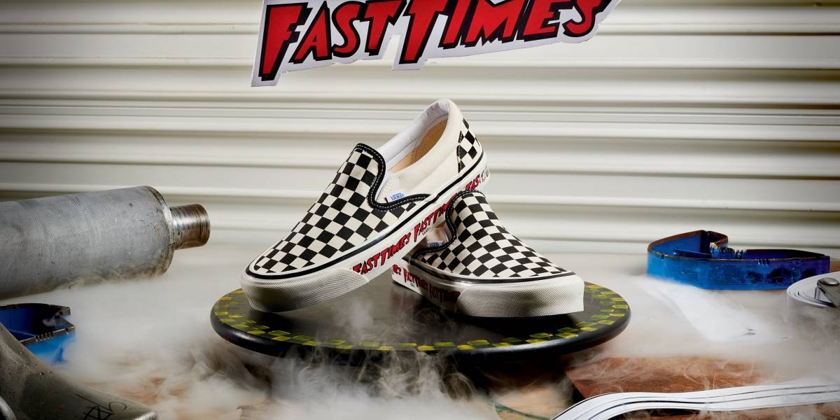 Vans: ya están disponibles en Chile las zapatillas edición especial de Fast Times At Ridgemont High