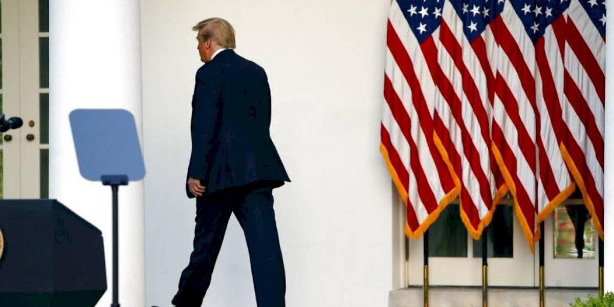 Trump asegura movilizará el ejército por todo el país contra manifestantes