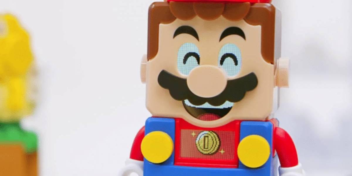"""¡Atención fanáticos! La curiosa propuesta de """"Super Mario"""" interactivo de Lego llega esta semana a Chile"""