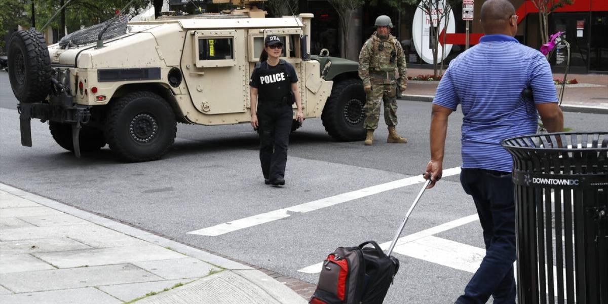 Algunos gobernadores en Estados Unidos rechazan enviar efectivos a D.C.