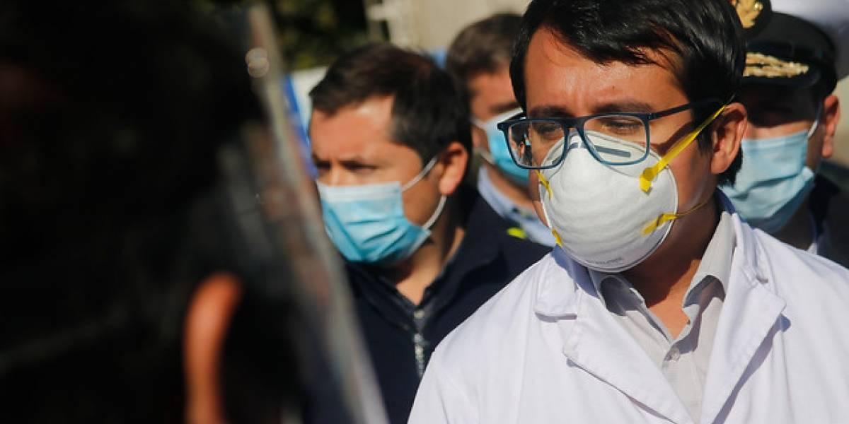 Seremi de Salud de Valparaíso fue conectado a ventilador mecánico tras agravamiento por covid-19