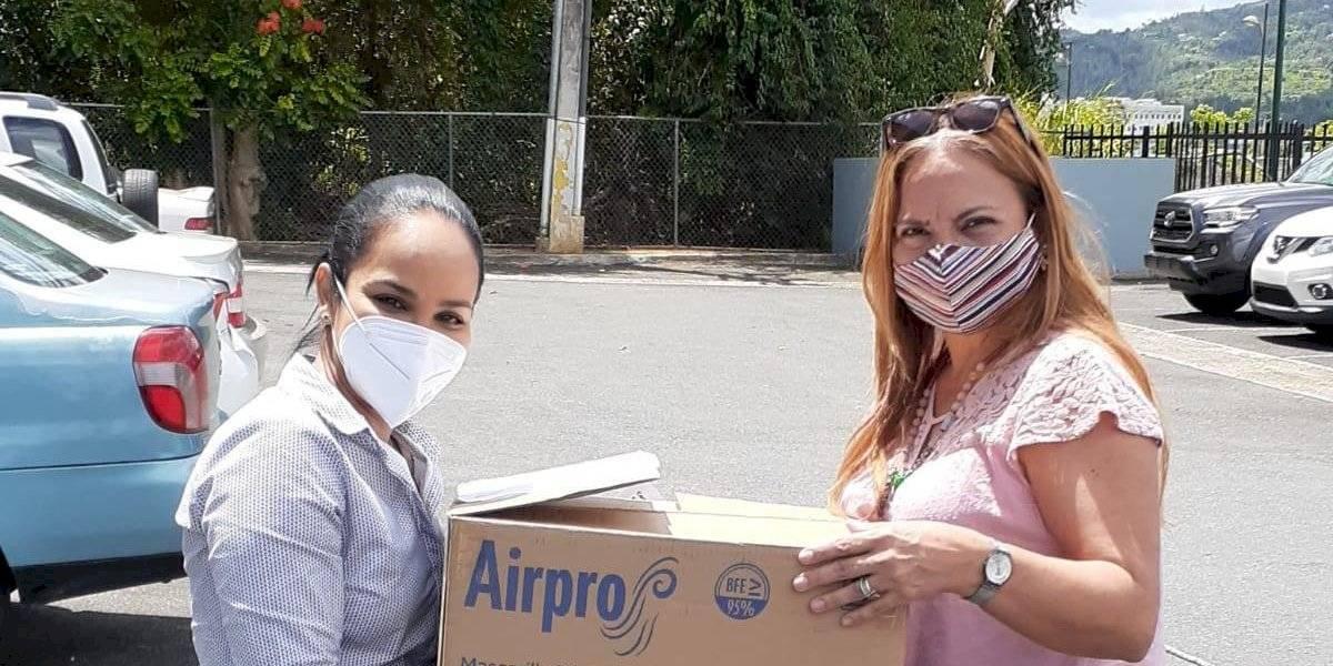 Distribuyen 17,000 mascarillas para adultos mayores