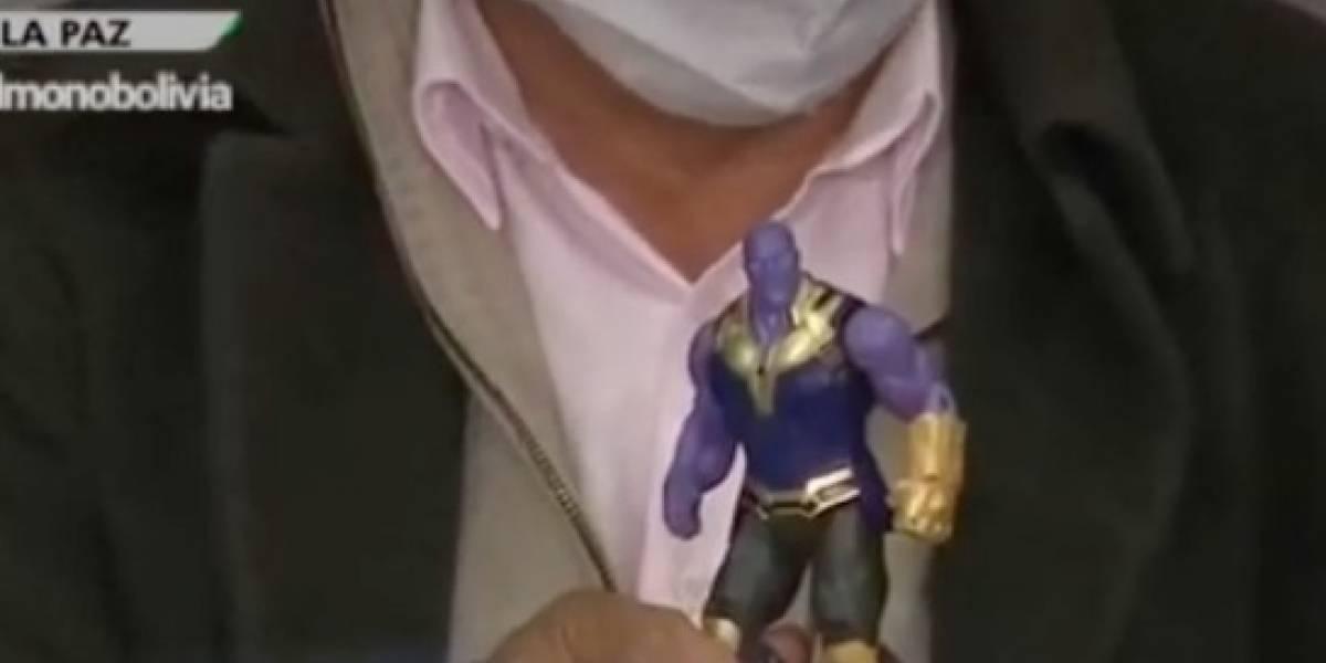 """Ministro boliviano compara al coronavirus con una batalla de los Avengers: """"Thanos nos está ganando"""""""