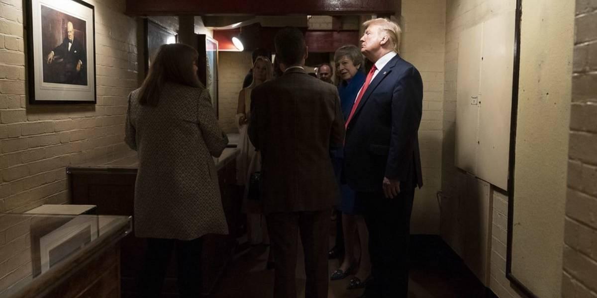 Así es el búnker que usó Donald Trump en la Casa Blanca para protegerse de las protestas