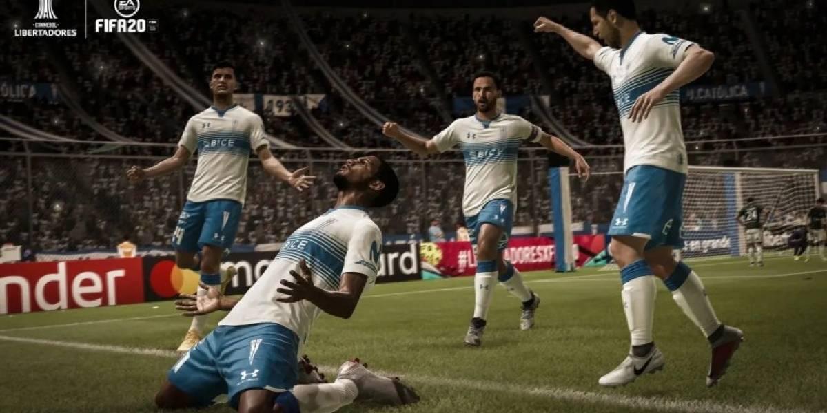 Presentado el TOTS Latam en el FIFA 20, incluye a dos jugadores del fútbol chileno