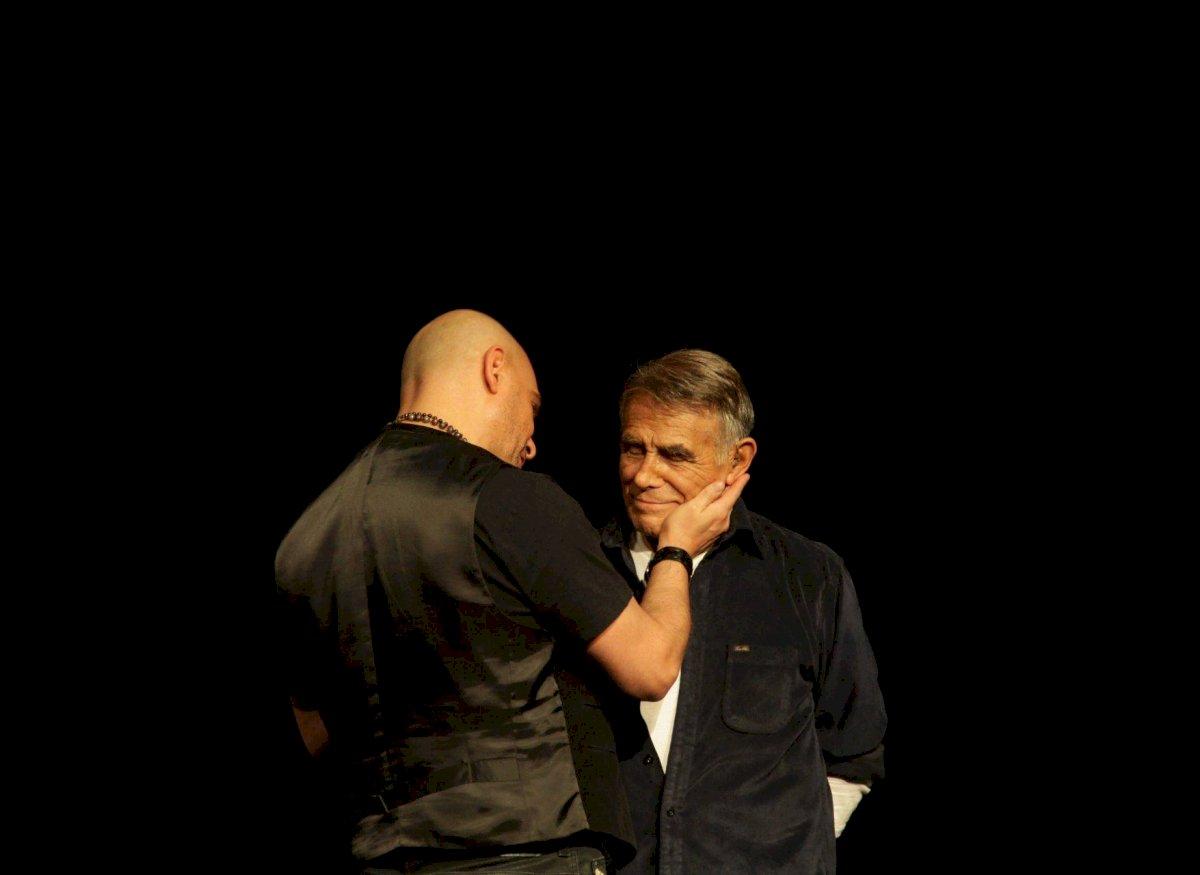 """El comediante Héctor Suárez compartió escenario con su hijo en """"Los Locos Suarez"""". Foto: Cuartoscuro"""