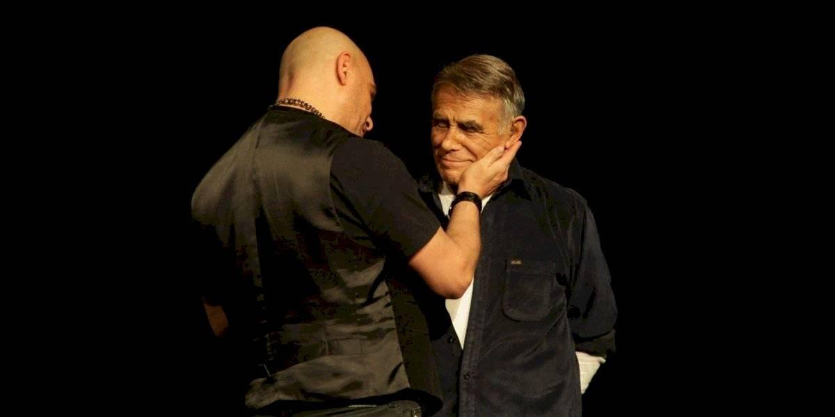 El amor que Héctor Suárez y su hijo mostraban en el escenario
