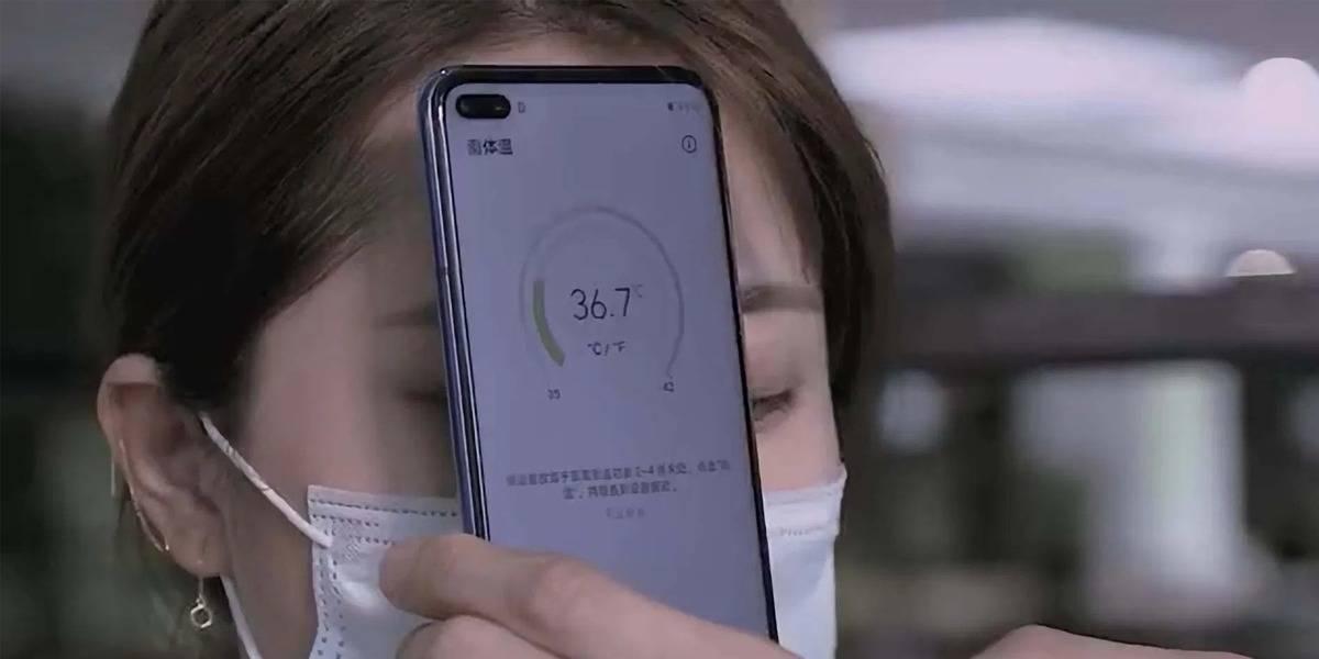 Huawei va a lanzar un celular Honor capaz de medirte la temperatura corporal