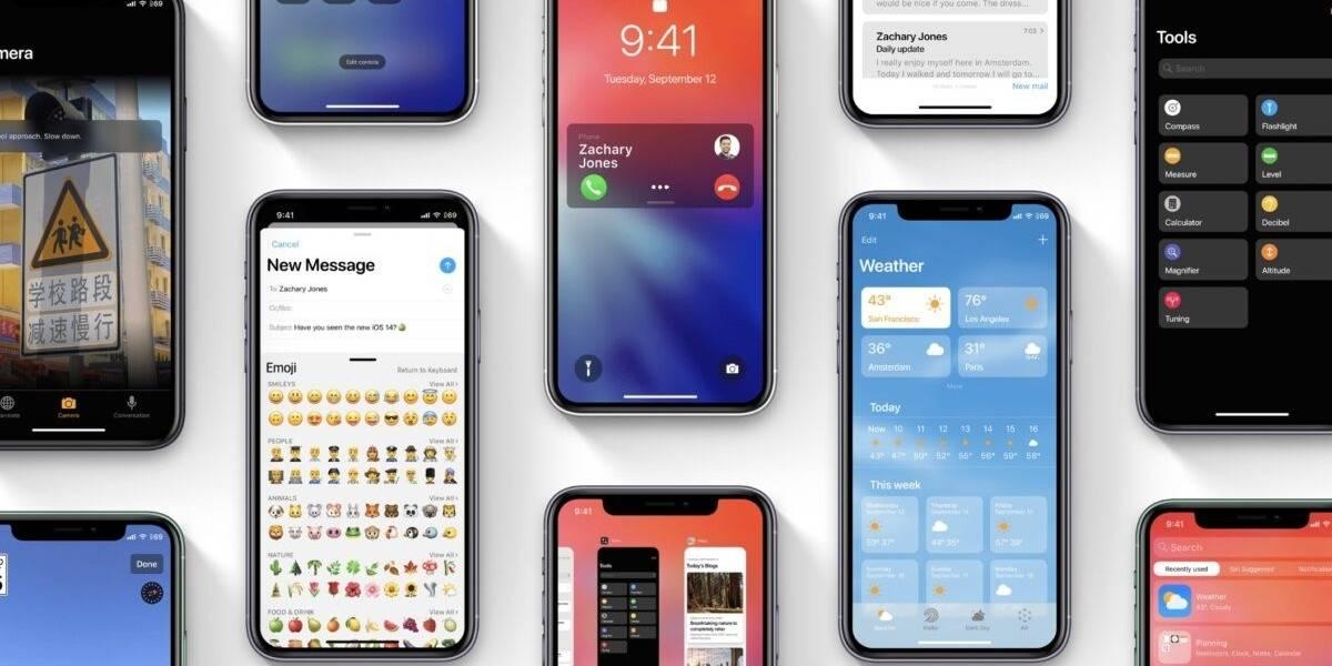 iPhone: se filtra la lista de modelos que tendrán iOS 14 desde el primer día