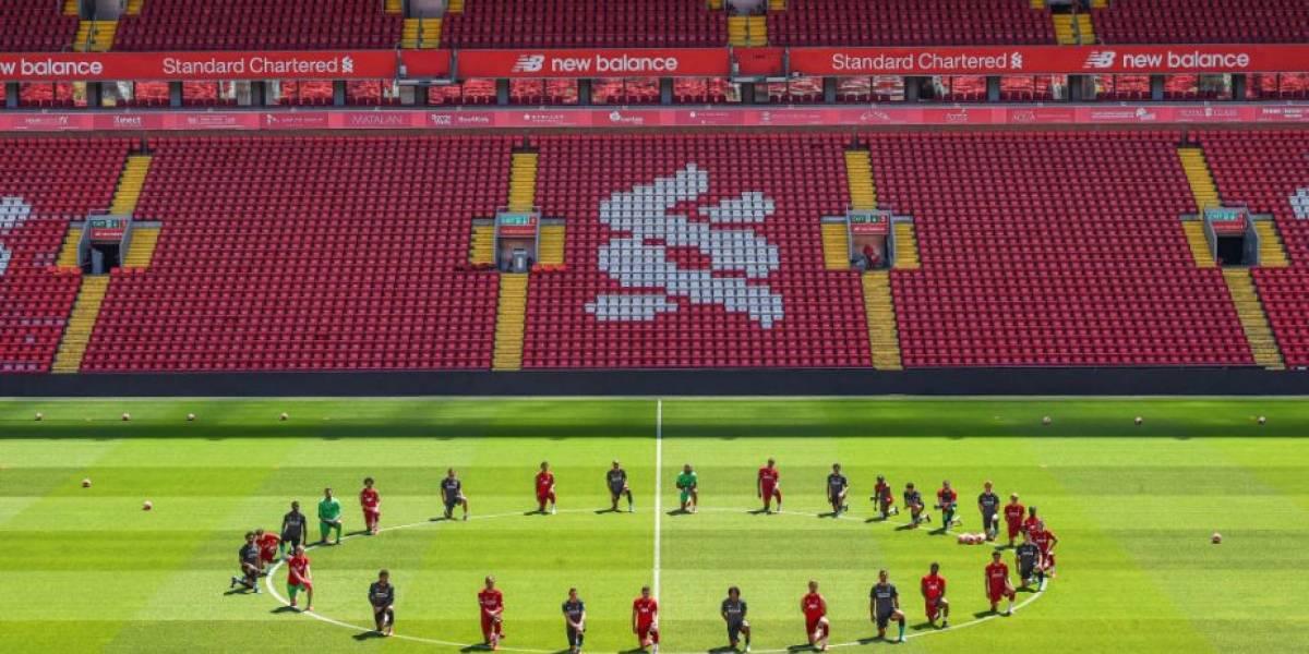 Fútbol inglés no castigará a jugadores que se manifiesten pidiendo justicia para George Floyd