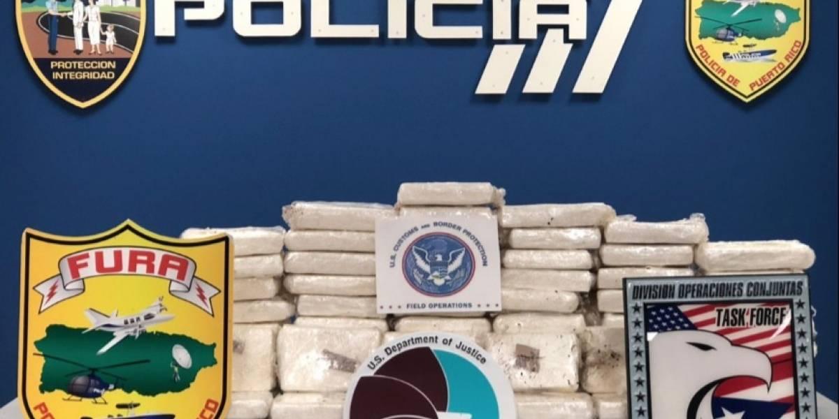 Policía incauta 100 bloques de cocaína valorados en más de $2 millones