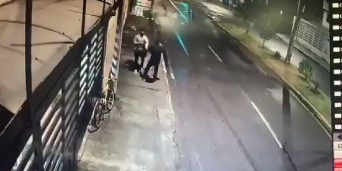(VIDEO) Asesinan domiciliario en su primer día de trabajo en Bogotá