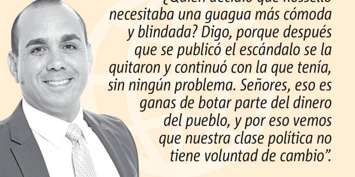 Opinión de Alex Delgado: La Junta y la Guagua Blindá