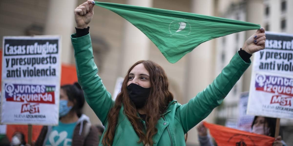 Movimiento Ni una menos conmemora su aniversario en las calles de Argentina a pesar de la cuarentena