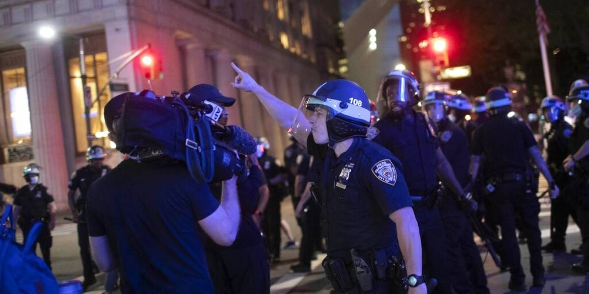 Periodistas incoan demanda por agresiones policiales en Estados Unidos