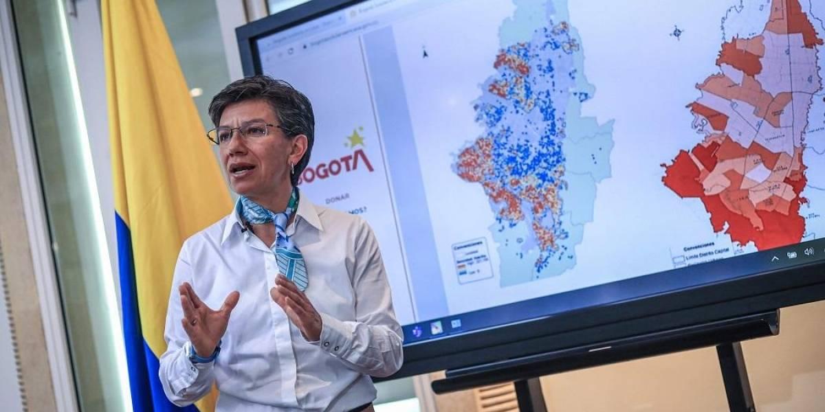 """Gobierno responde a Claudia López: solo se lava las manos """"para prevenir el coronavirus"""""""