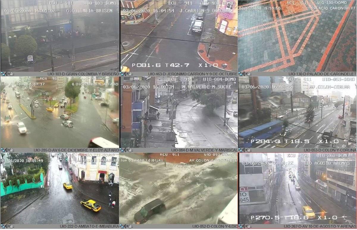 lluvia en Quito 3 de junio