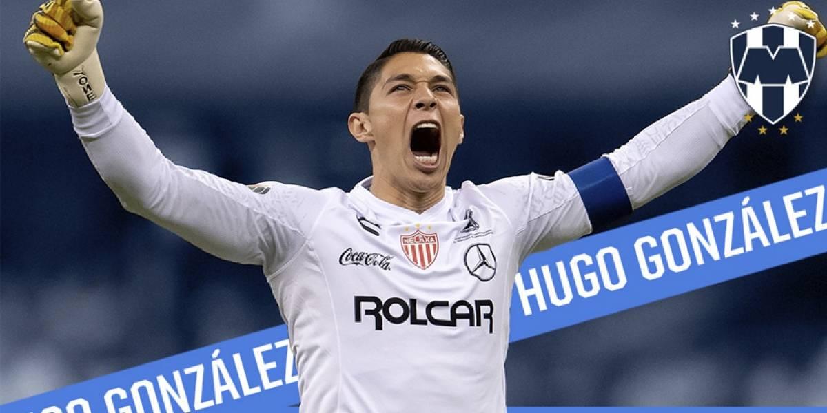 ¡Es oficial! Regresa Hugo Gonzáles a Rayados