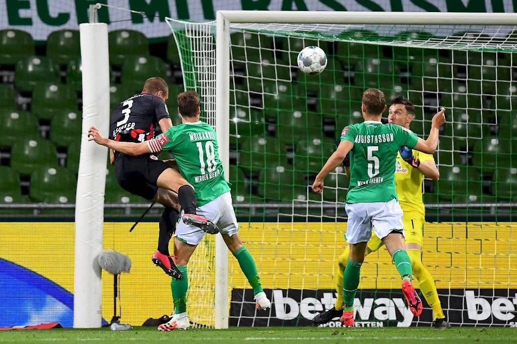 Resultado del partido Werder Bremen vs Frankfurt por la Bundesliga ...