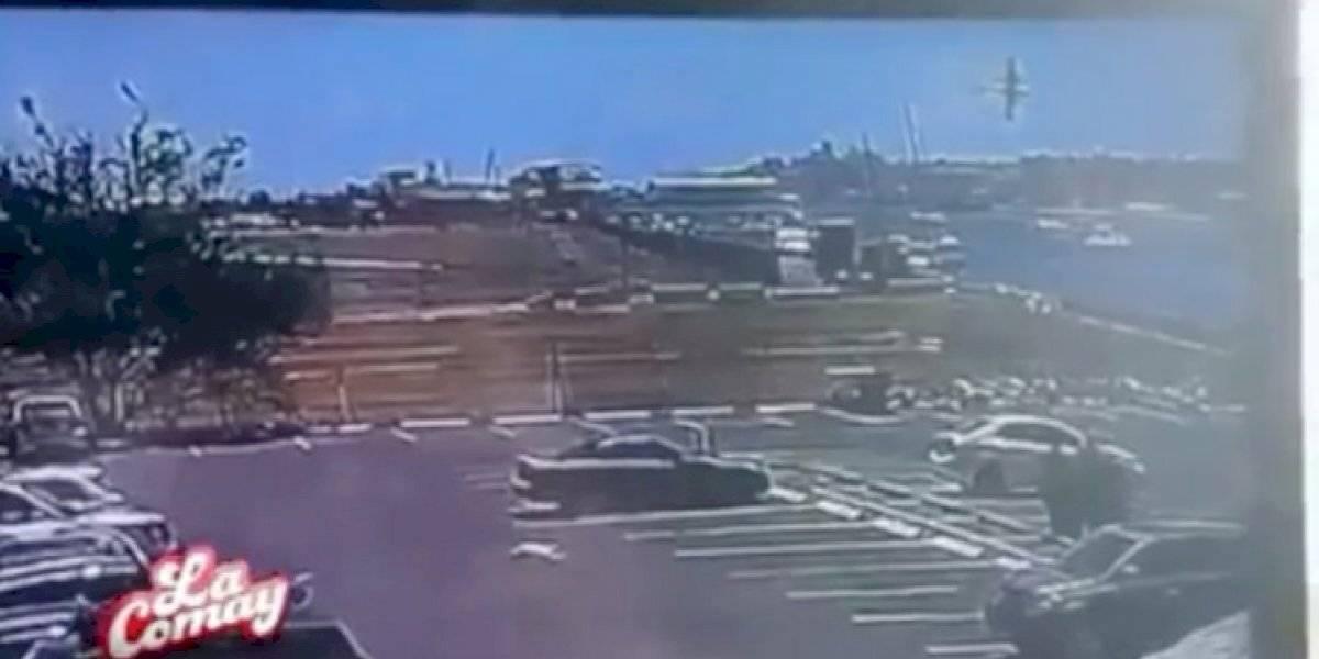 Presentan momento cuando se estrella avioneta en San Juan y deja dos muertos