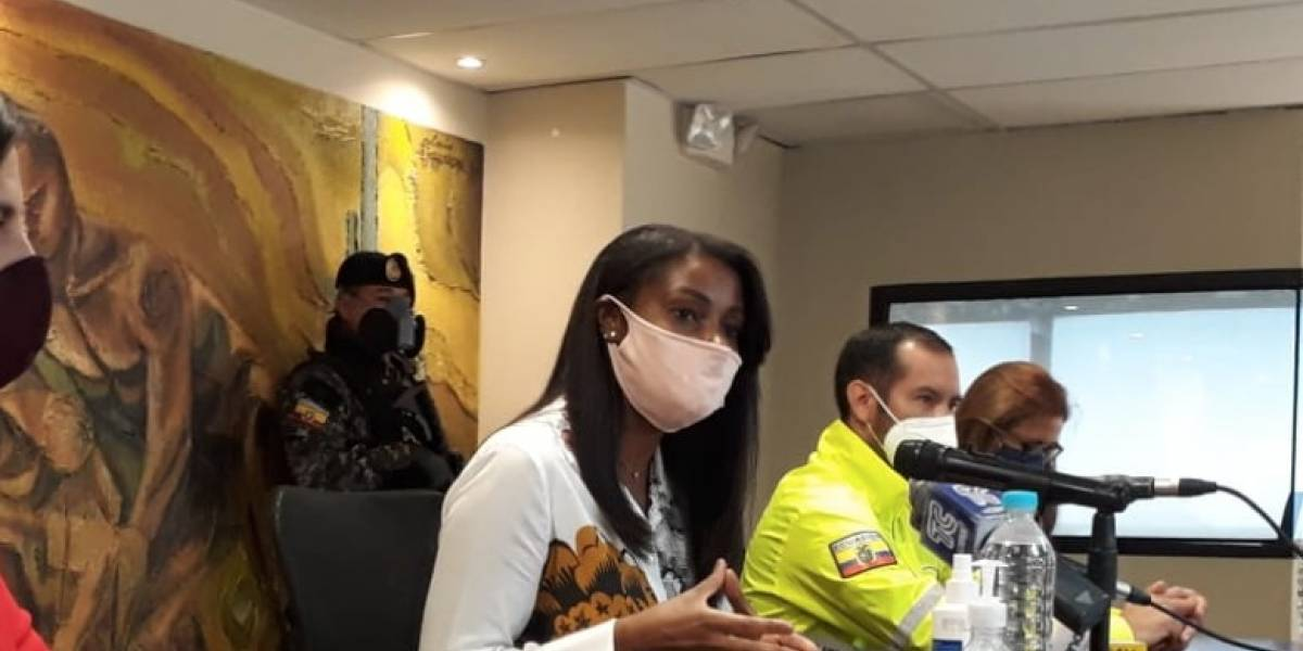 Fiscal Diana Salazar aclara que Abdalá Bucaram fue detenido por insumos y no por arma