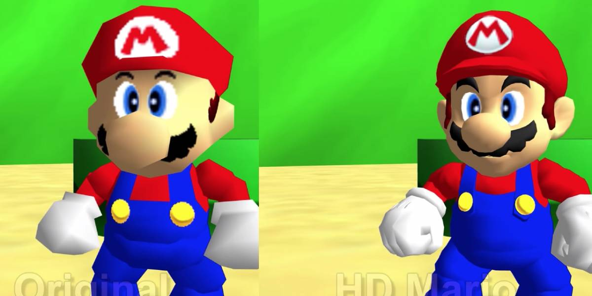 Nintendo: Super Mario 64 para PC recibe mods HD