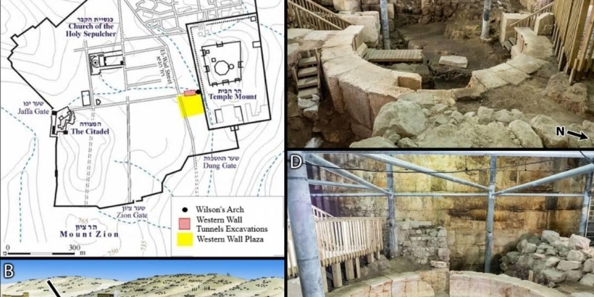 Ciencia.-Identificados los orígenes del Monte del Templo de Jerusalén