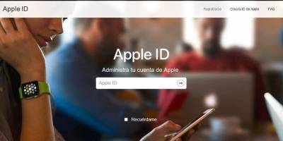 Golpe iPhone Apple ID site falso