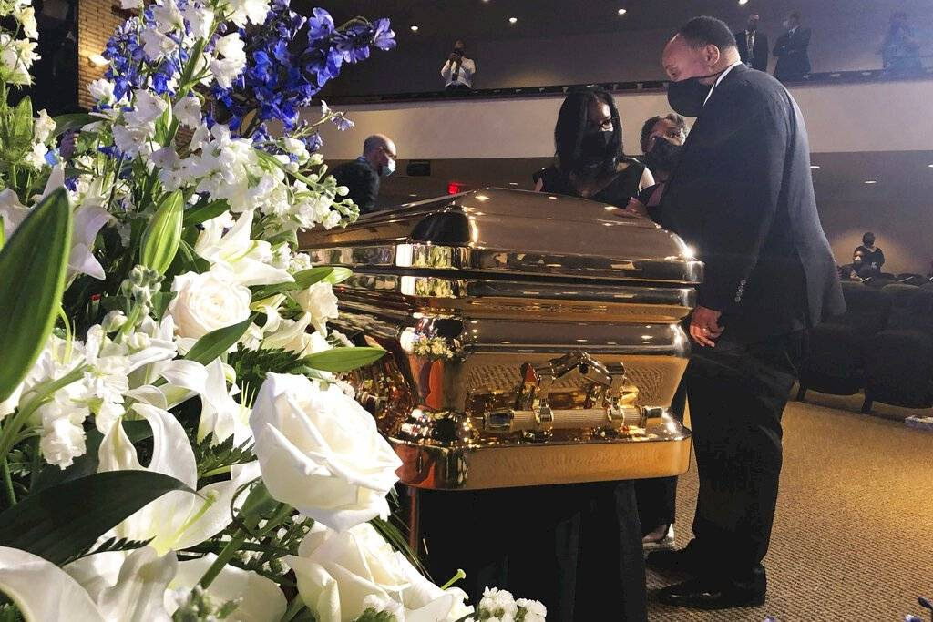 funeral de George Floyd martin luther king